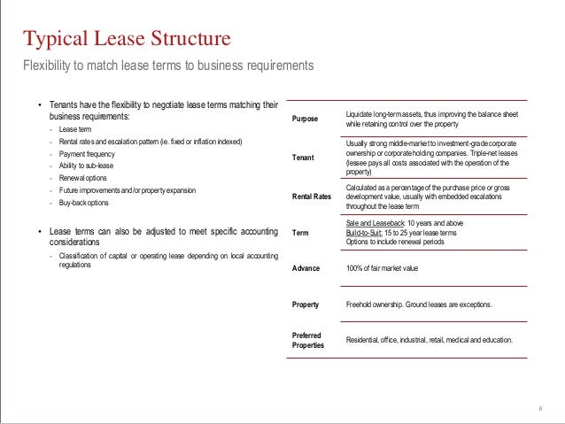 An alternative to traditional equity and debt financing is leasing