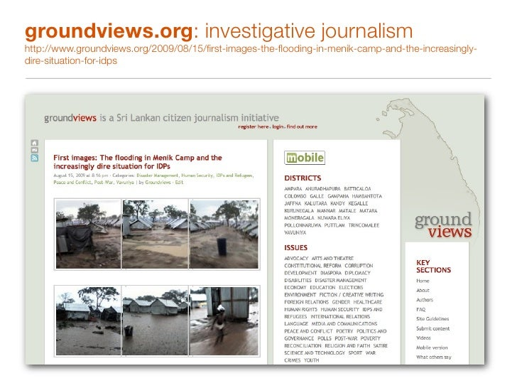 groundviews.org: visualising perspectives