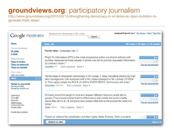 vikalpa.org: citizen journalism in Sinhala