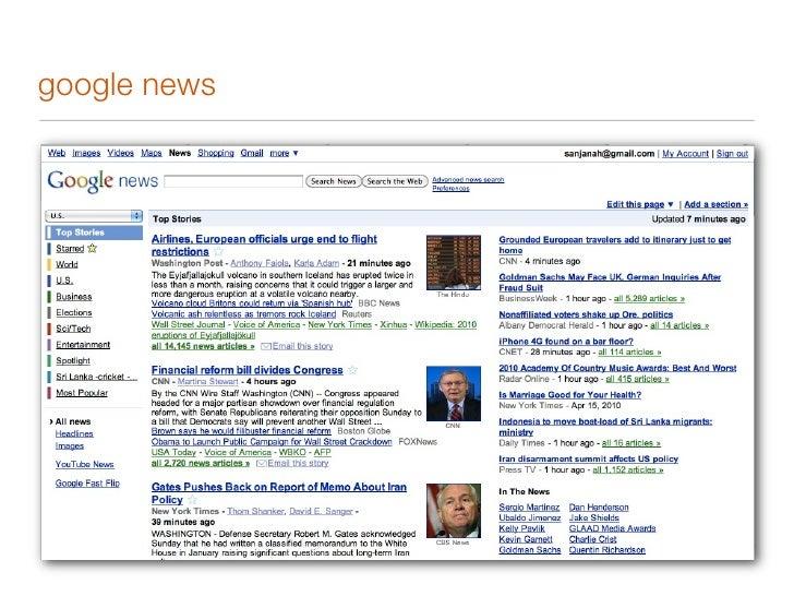 google reader: a web based RSS reader