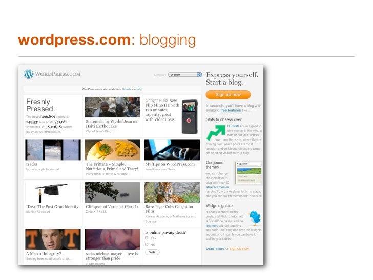 twitter.com: micro-blogging http://media.twitter.com