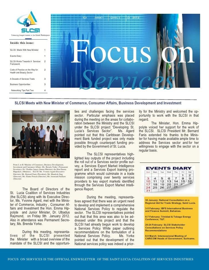 I SSU E 1     VOL 2          2012                                                                      Focus on Inside thi...
