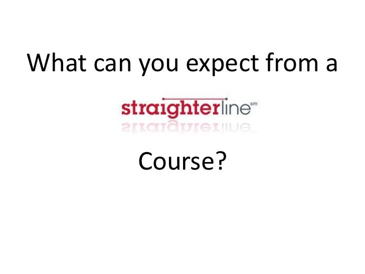 What can you expect from a         Course?
