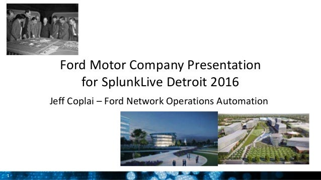 Customer presentation ford network operations adminstration for Ford motor customer service