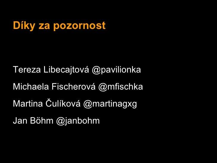 Sleduj Zakony.cz (multimediální projekt) 21. 5. Hub Praha