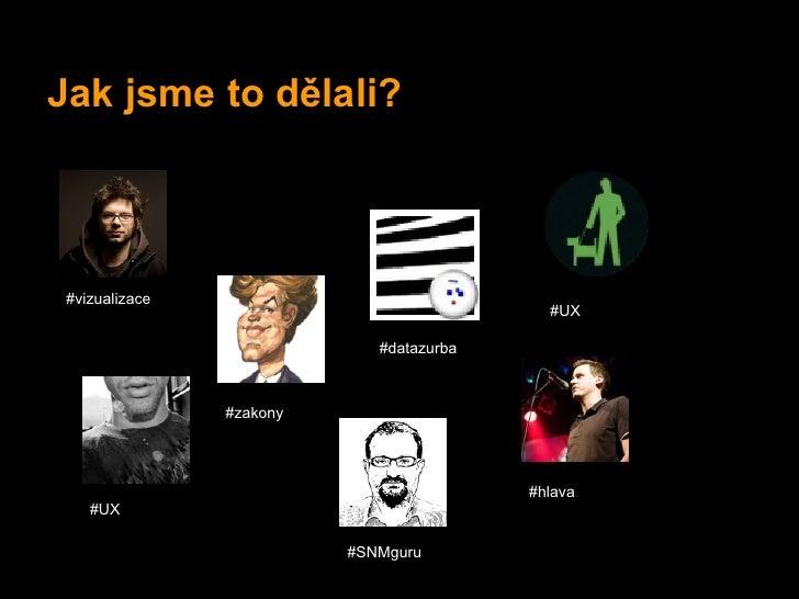 Jak jsme to dělali? #vizualizace                                            #UX                             #datazurba    ...