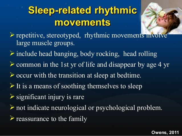  repeated abrupt awakenings from sleep characterized by intense fear, panicky screams, autonomic symptoms (tachycardia, r...