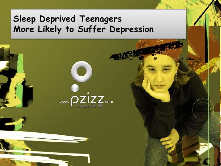 Sleep Deprived Teenagers More Likely to Suffer Depression<br />