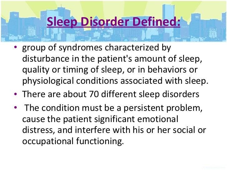 SLEEP DISORDER DEFINITION EBOOK DOWNLOAD