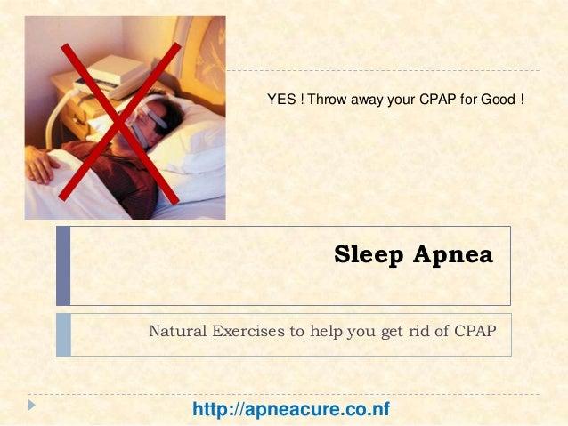 how to get rid of sleep apnea fast