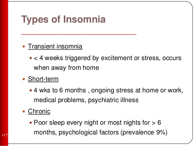 the three categories of sleeping disorders Concerning sleep problems in children it is important to identify the sleep disorder underlying the problem rather than treat symptomatically, as the choice of treatment depends on the cause of the problem there are three basic types of sleep problem.