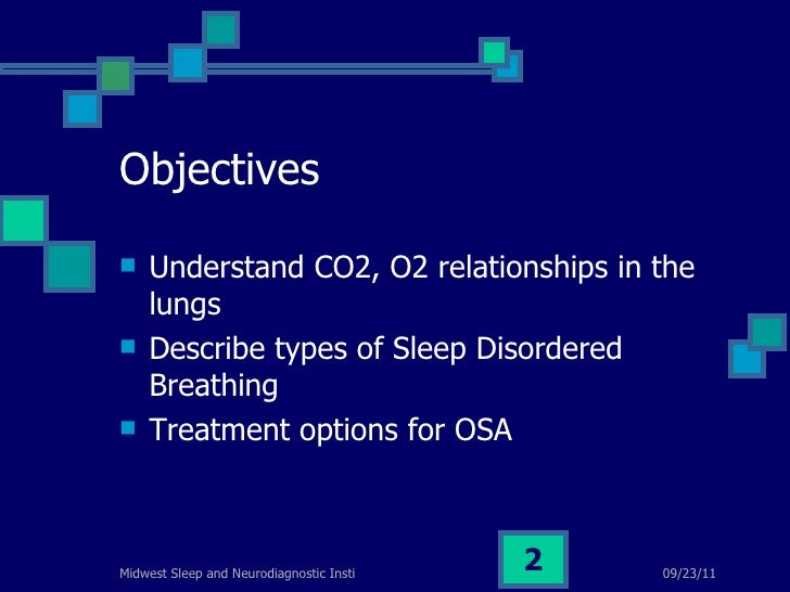 Sleep disordered breathing and sleep apnea