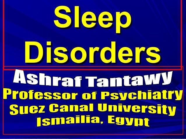 SleepSleep DisordersDisorders