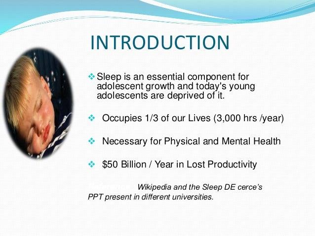 Sleeping Disorders: An Introduction