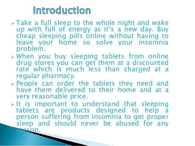 buy sleeping pills online