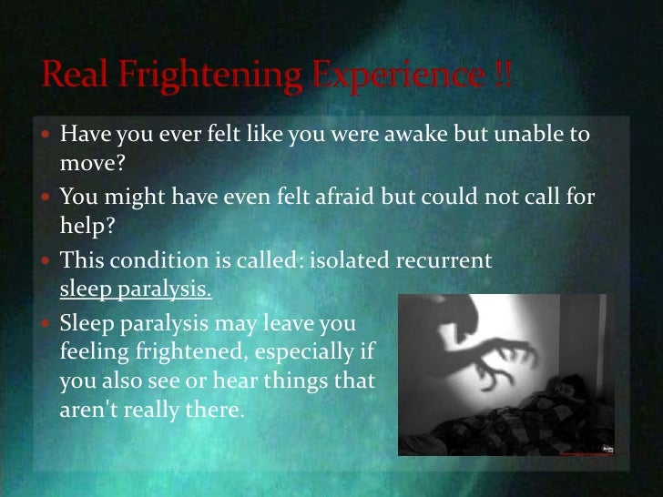 sleep paralysis (en) ryan hurd, sleep paralysis: a guide to hypnagogic visions and visitors of the night, hyena press, septembre 2010, 132.