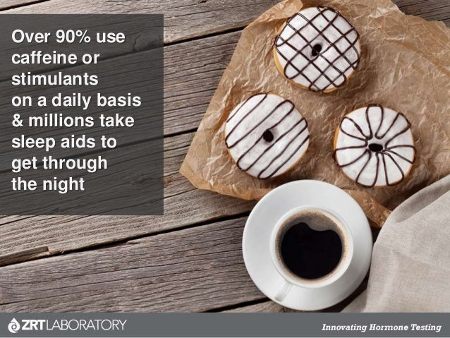 Over 90% use caffeine or stimulants on a daily basis & millions take sleep aids to get through the night