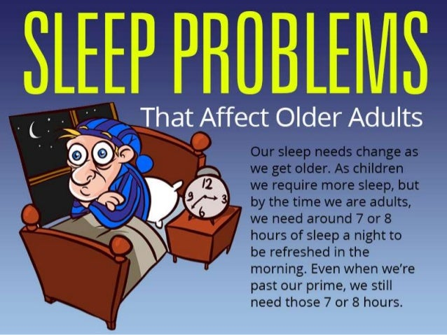 Sleep Issues In Adults 21