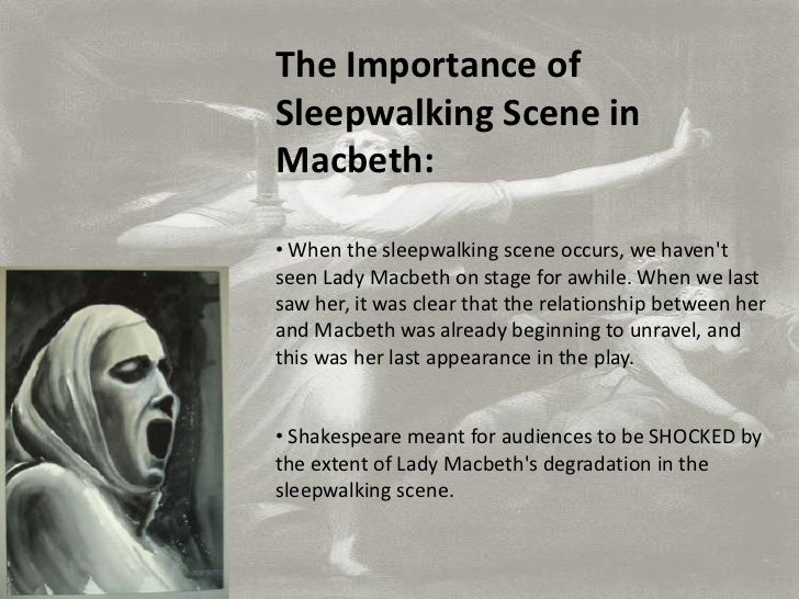 the importance of night in macbeth The supernatural in shakespeare's macbeth  midsummer night's dream, hamlet, macbeth and the tempest are  another important factor of the use of the.