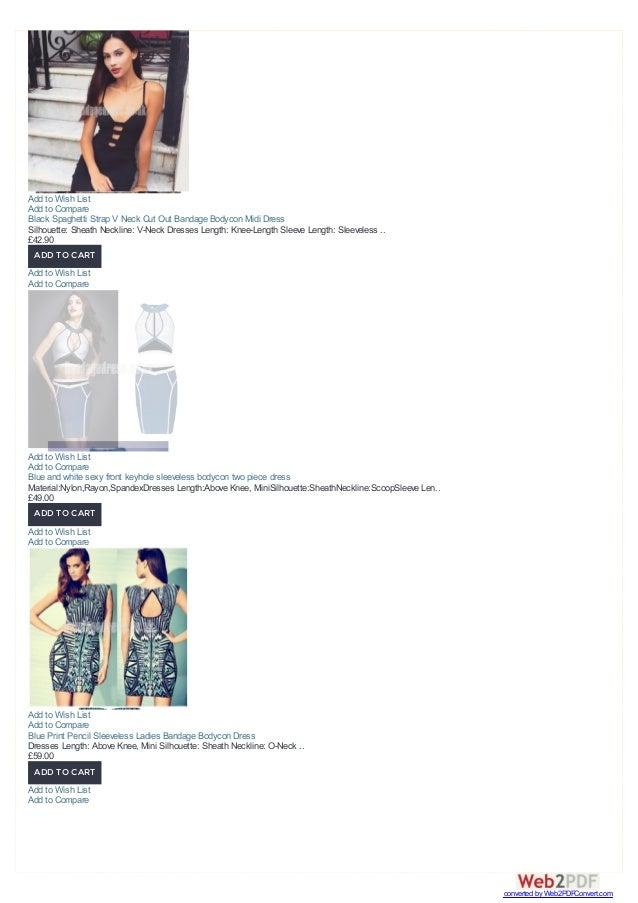 Black Spaghetti Strap V Neck Cut Out Bandage Bodycon Midi Dress Silhouette: Sheath Neckline: V-Neck Dresses Length: Knee-L...