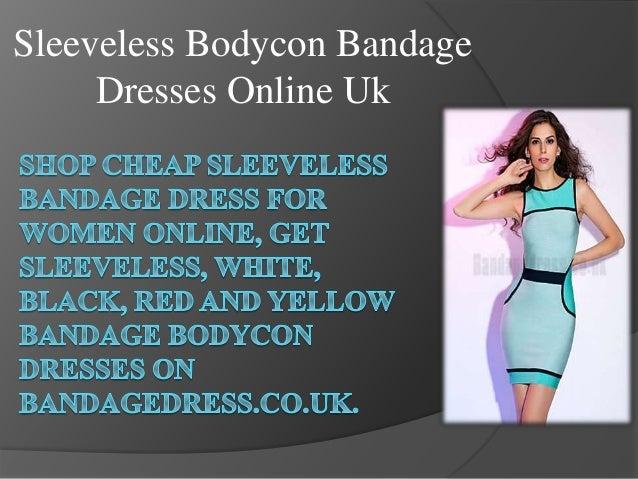 Sleeveless Bodycon Bandage Dresses Online Uk