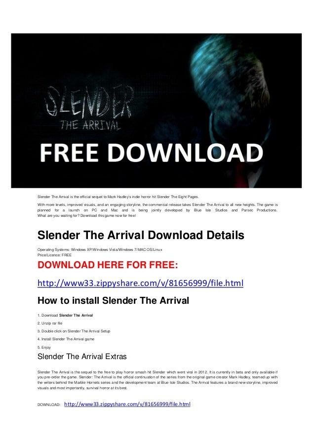 slender the arrival mac