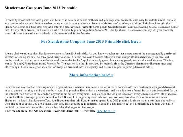 photo relating to Skechers Coupons Printable identified as Slendertone coupon codes june 2013 printable