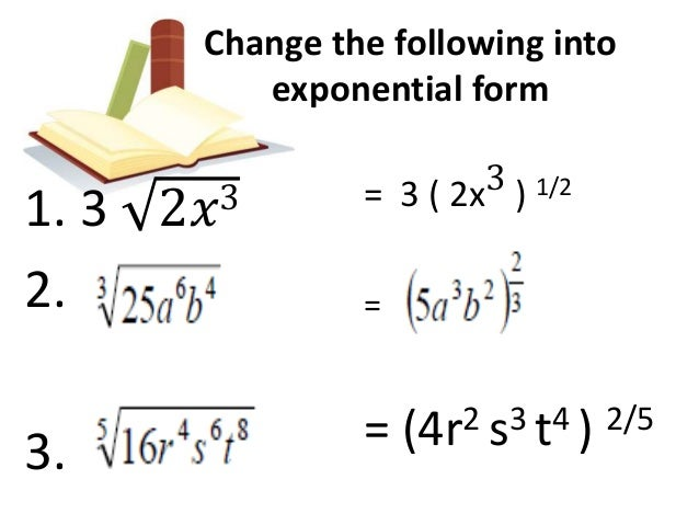 write in radical form This calculator can be used to simplify a radical simplifying radical expressions probably have some question write me using the contact form or.