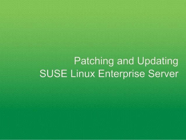 SUSE Manager Web-based GUI SUSE Customer Center SUSE Manager