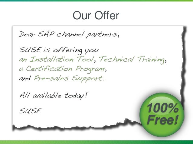 Our Offer 100% Free!