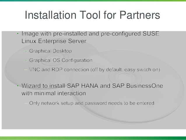 Installation Tool for Partners
