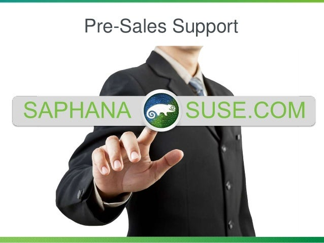 Pre-Sales Support