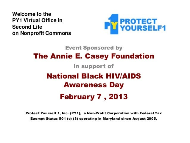 Welcome to thePY1 Virtual Office inSecond Lifeon Nonprofit Commons                         Event Sponsored by        The A...