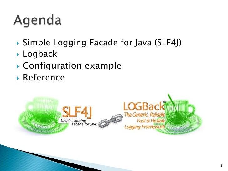 SLF4J+Logback Slide 2
