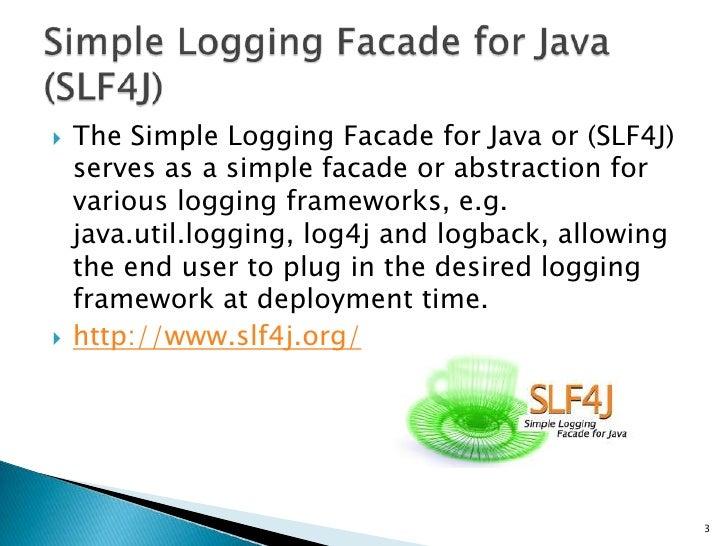 SLF4J+Logback Slide 3