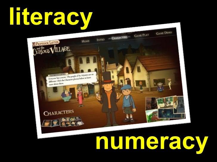 literacy numeracy