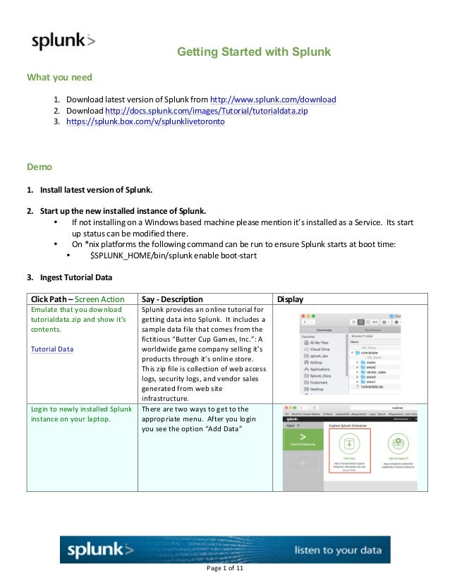 Getting Started Handout Guide