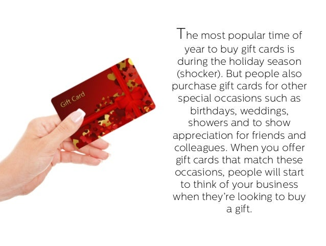 4 reasons why small businesses should have a gift card program with gifting occasions 11 colourmoves