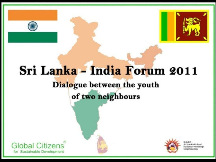 Sri Lanka India Forum 2011 - Sri Lanka