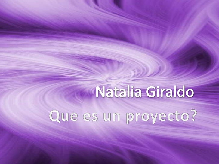 El término proyecto proviene del latín proiectu y podría definirse a unproyecto como el conjunto de las actividades que de...