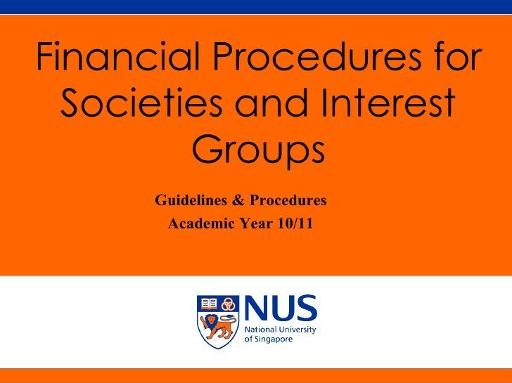 NUS Presentation Title 2001