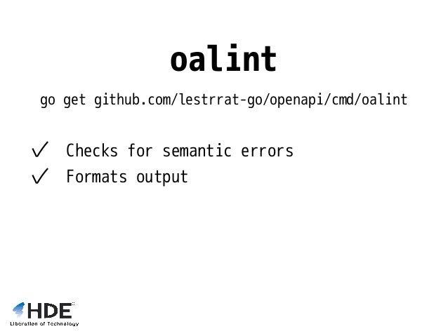Slicing, Dicing, And Linting OpenAPI