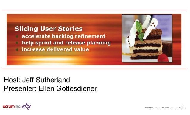 © 1993-2015 Jeff Sutherland & Scrum Inc.© 2016 EBG Consulting, Inc. | 1 Host: Jeff Sutherland Presenter: Ellen Gottesdiener