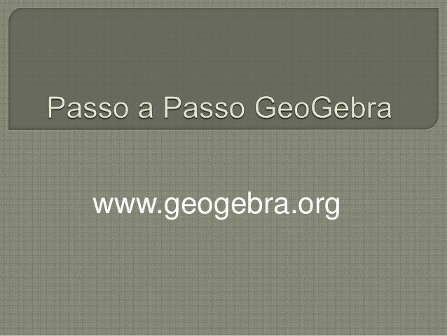 www.geogebra.org