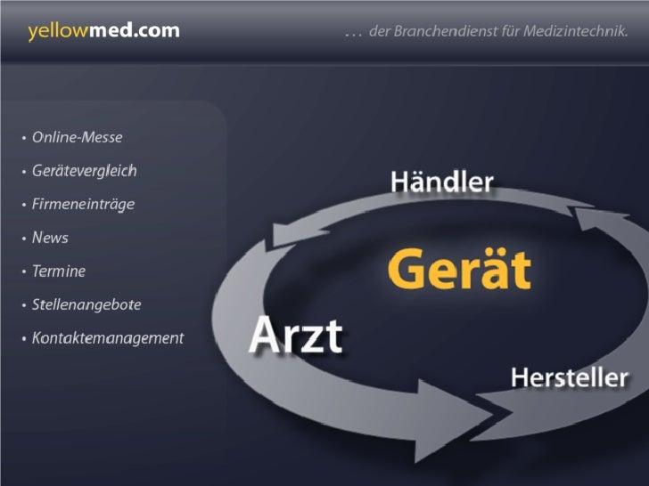 yellowmed Medizintechnik Handelsportal