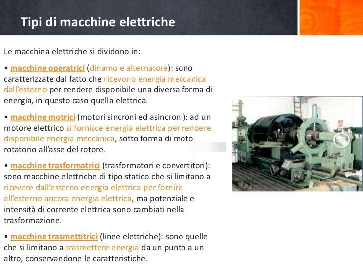 Funzionamento di motori elettrici for Tipi di interruttori elettrici