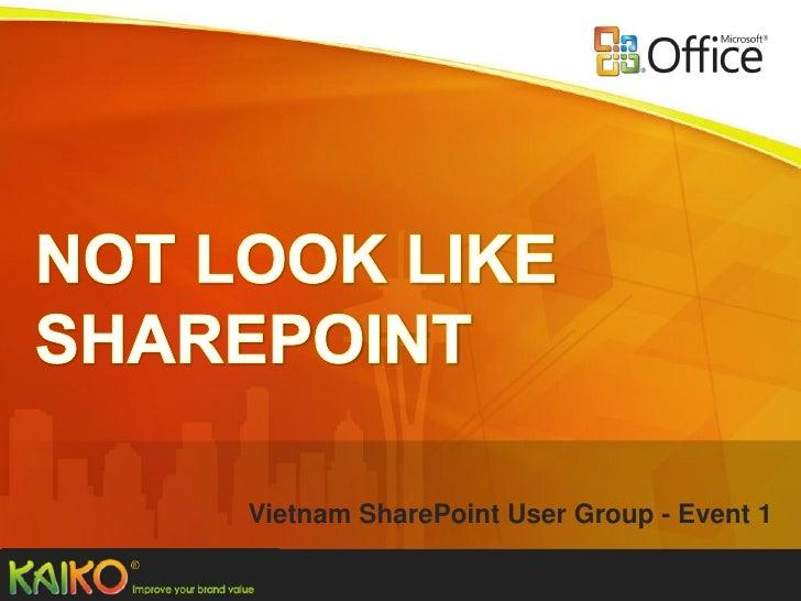 Vietnam SharePoint User Group - Event 1