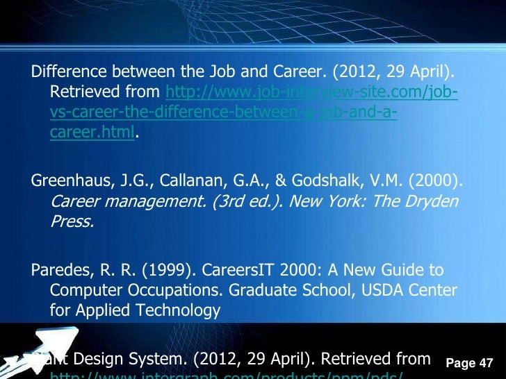 difference between the job and career - Job Vs Career The Difference Between A Job And A Career