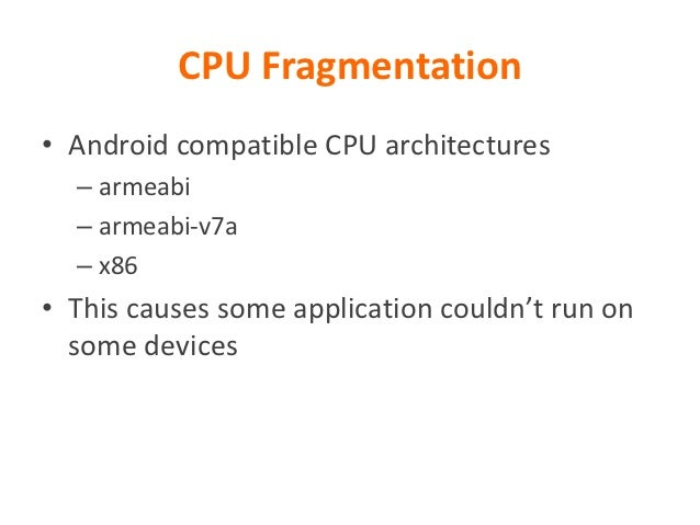Android Fragmentation Visualized    http://www.techanalyzer.net/2012/08/22/why-android-fragmentation-never-really-mattered/