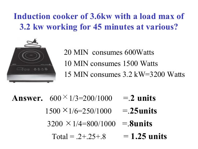 Power Consumption Of Household Equipments In India